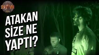 Atakan İsyan Etti!   Survivor Türkiye - Yunanistan