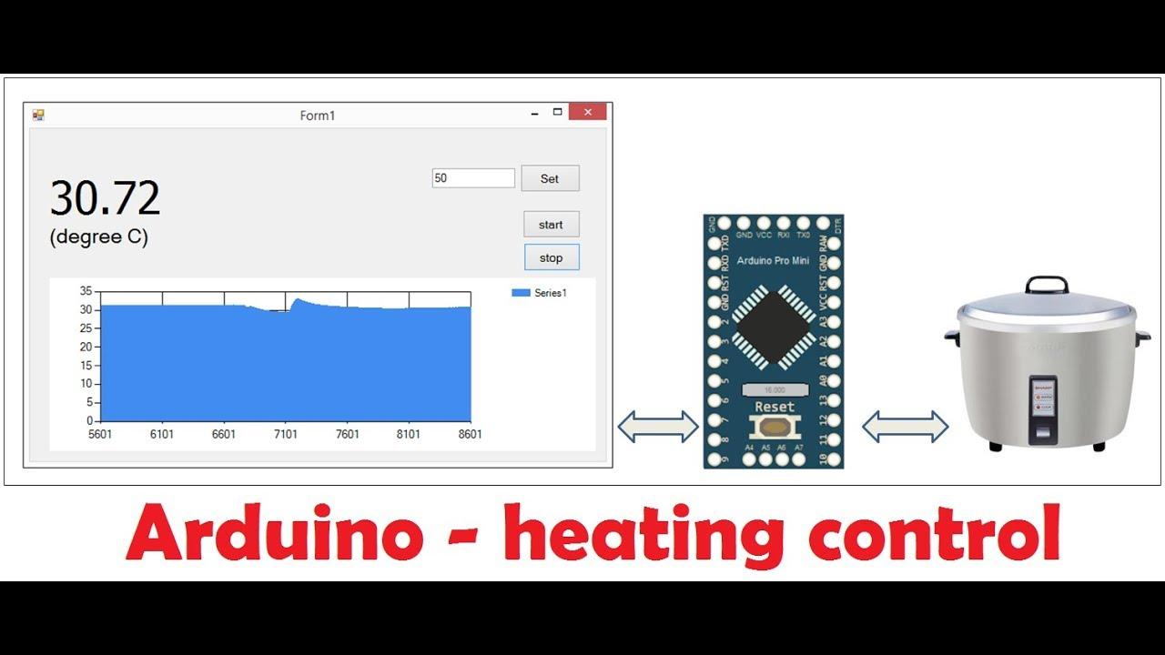 Arduino heating control