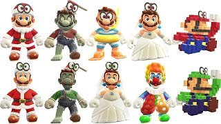 Super Mario Odyssey - All Mario & Luigi Outfits Comparison