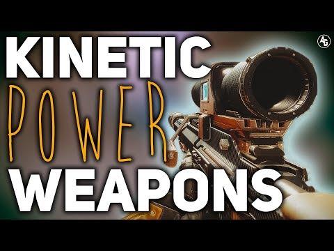 Kinetic Power/Special Weapons Overview   Destiny 2 Forsaken