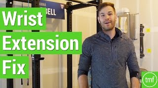 Wrist Extension Fix | Movement Fix Monday | Week 11 | Dr. Ryan DeBell