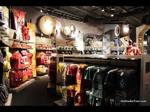 Harry Potter studio tour LONDON Gift Shop Tour part 2