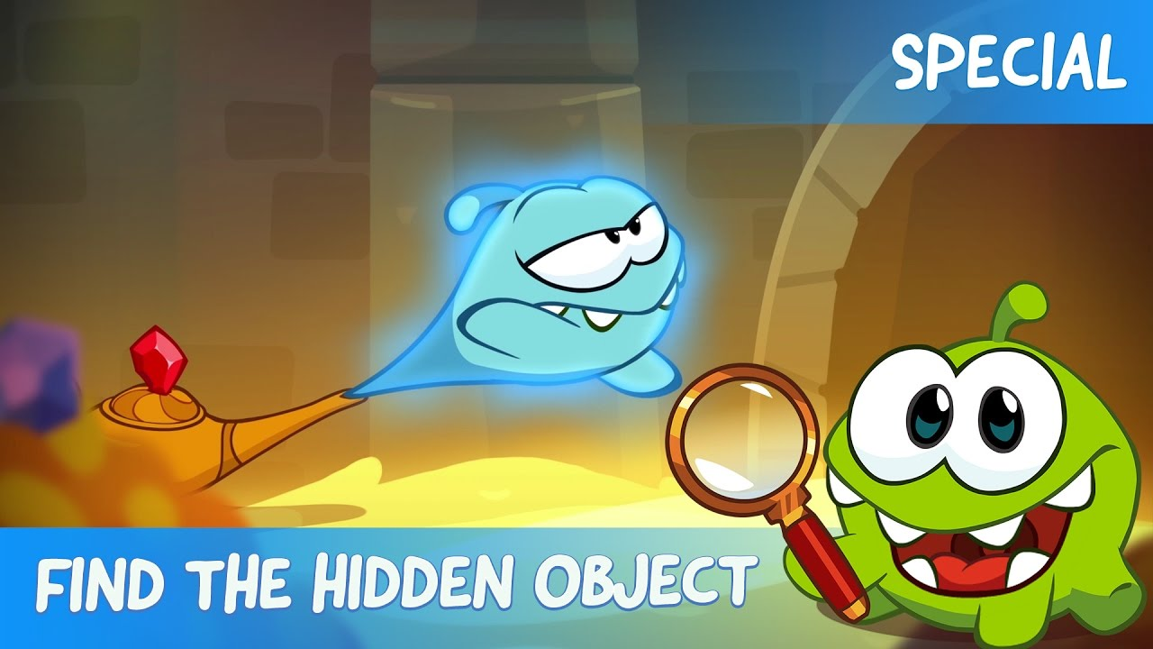 Find the Hidden Object Ep. 4 - Om Nom Stories: The Magic Lamp ...