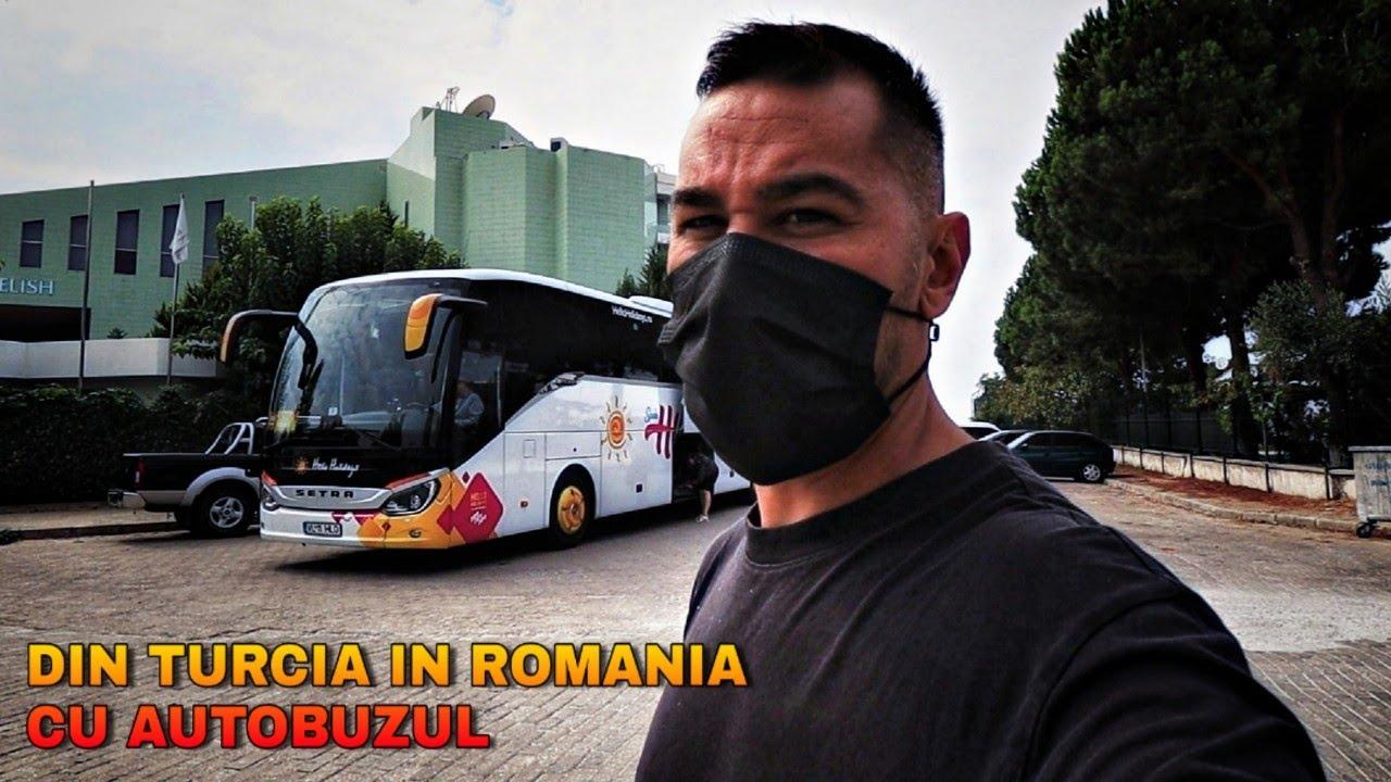 24 ORE cu autobuzul pana ACASA