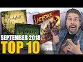 Top 10 hottest board games: September 2018