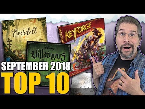 Top 10 hottest board games: September 2018 Mp3