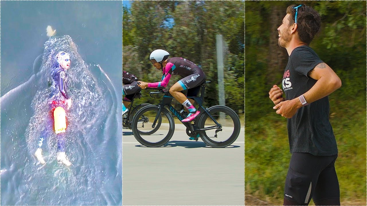 OFF THE COUCH IRONMAN (Road Cyclist tries an Ironman triathlon on NO TRAINING!)