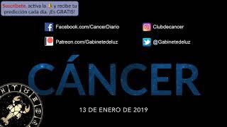 Horóscopo Diario - Cáncer - 13 de Enero de 2019