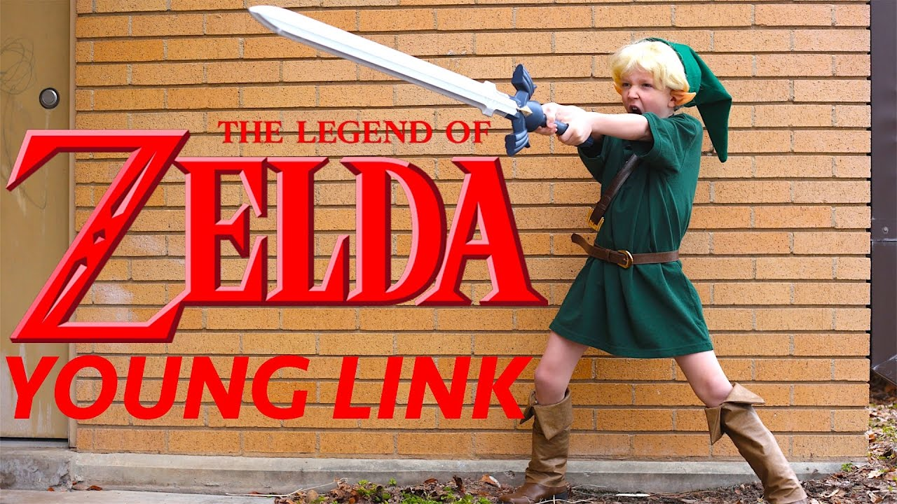How To Make A Young Link Costume Zelda Ocarina Of Time!  sc 1 st  YouTube & How To Make A Young Link Costume Zelda Ocarina Of Time! - YouTube