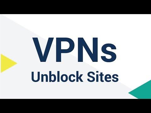 VPNs Unblock Restricted Sites