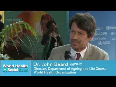 "WHO: Healthy Ageing - Interview at ""World Health +SocialGood"""