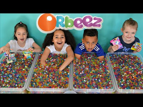 Thumbnail: ORBEEZ Challenge #3 | Super Sour Warheads | MLP | Shopkins | LPS Prizes | Toys AndMe