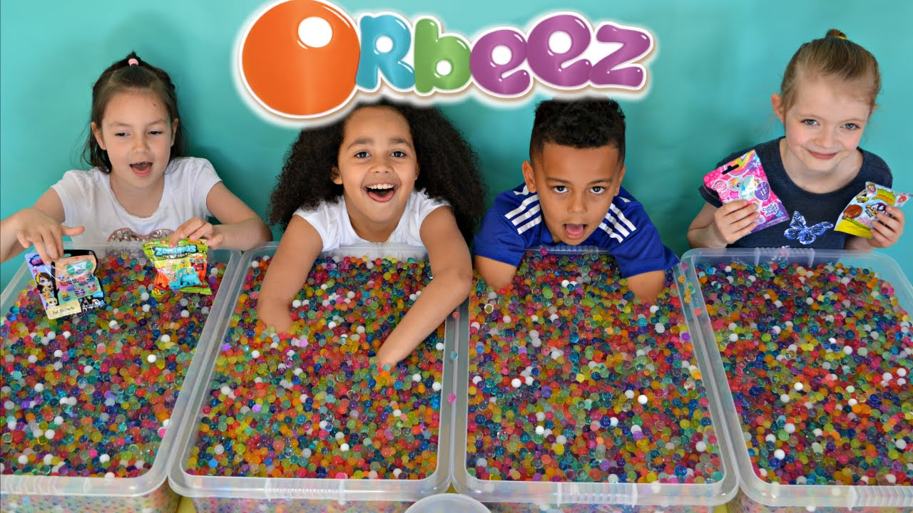 Orbeez Challenge 3 Super Sour Warheads Mlp Shopkins