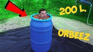 200 Liter Orbeez Barrel! Checking Archimedes