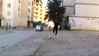 snow training freeruning algerien batna