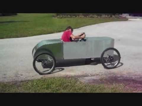 Homemade Car First Drive With Bodywork Youtube