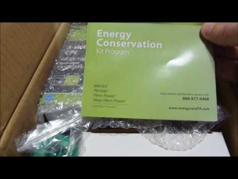 R98-0049 - Unboxing the Energy Saving Kit from your electric company