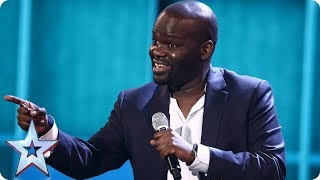 Daliso Chaponda brings the LOLZ for your votes | Semi-Final 5 | Britain's Got Talent 2017 thumbnail