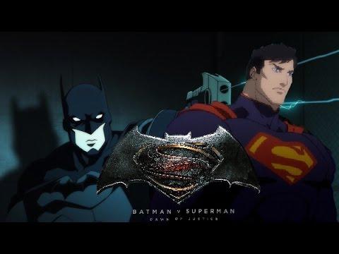 BATMAN VS SUPERMAN dawn of justice | animated Version