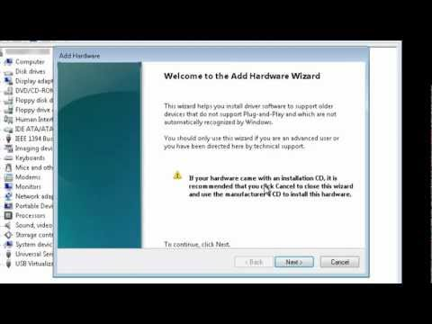 How To Install A Microsoft Loopback Adapter In Windows 7