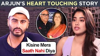 Arjun Kapoor's Heart Touching Story, REVEALS Why He Supported Janhvi Kapoor And Boney Kapoor