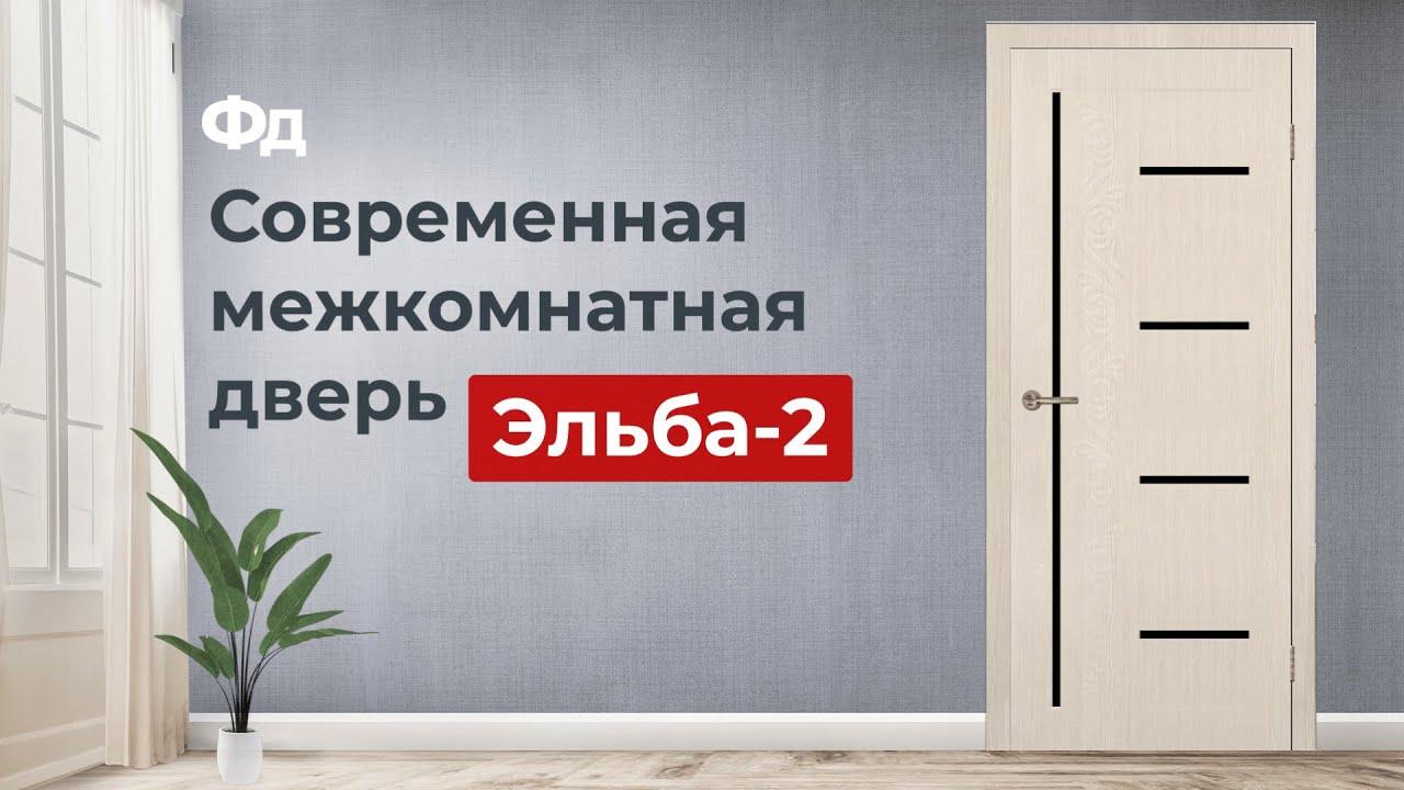 Современная межкомнатная дверь Эльба-2