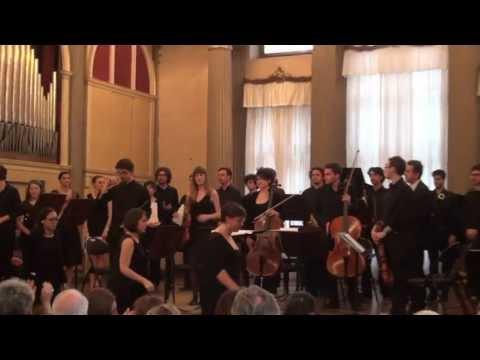 AMBROSINI  Concerto del Conservatorio di Venezia - 2013