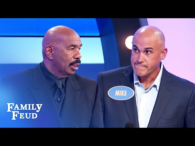 Steve Harvey was not expecting this answer!   Family Feud