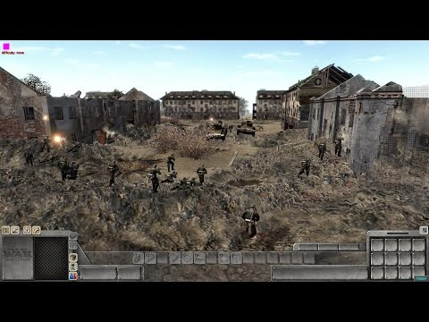 Men Of War Assault Squad 2 -A Look At [GSM]Defence Missions Mod