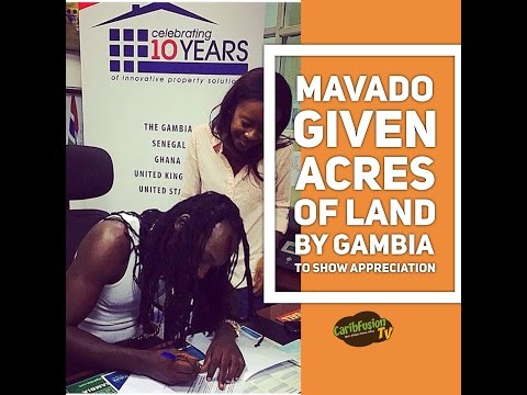 Gambia Gives Mavado Acres Of Land To Show Appreciation