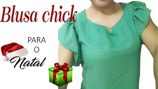 Blusa Chick de Pregas – Moda 2019