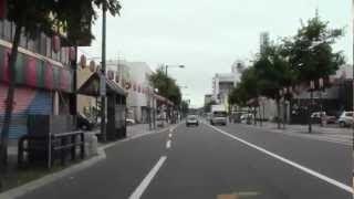 【2倍速】帯広市街ドライブ 帯広グランドホテル~帯広神社前まで2012年7月