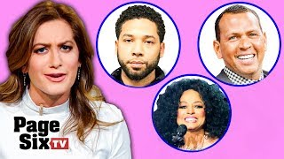 Jussie Smollet Charges Dropped, Diana Ross' Bday, and A-Rod Sexting Scandal | Page Six TV