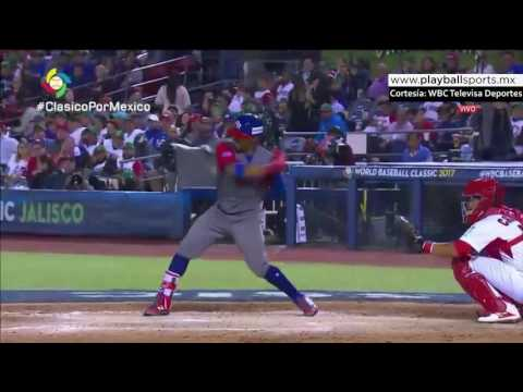 HighlightWBC - SEGUNDO HOME RUN DE FRANCISCO LINDOR PUR VS MEX