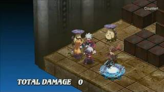 Disgaea 3: Absence of Justice PlayStation 3 Gameplay -