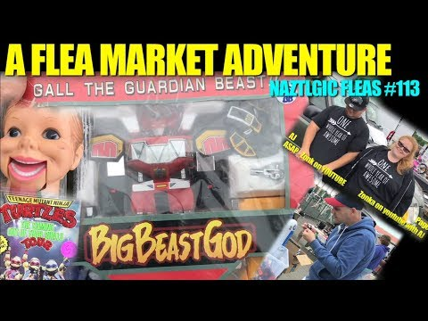 FLEA MARKET HUNT #112 Retro video games, Vintage toys, collectibles, Amazing finds