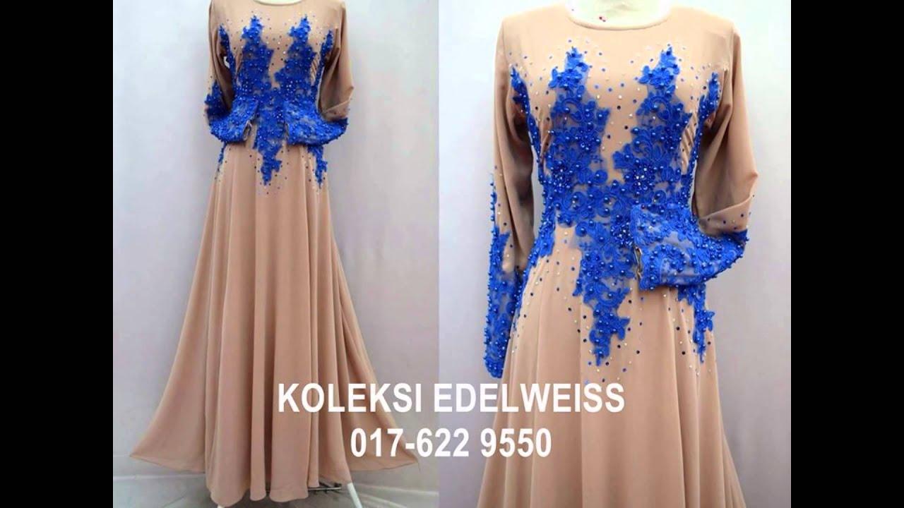 koleksi edelweiss koleksi baju pengantin tunang jubah muslimah eksklusif