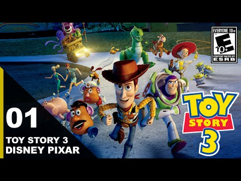Toy Story 3 The Video Game Walkthrough Gameplay
