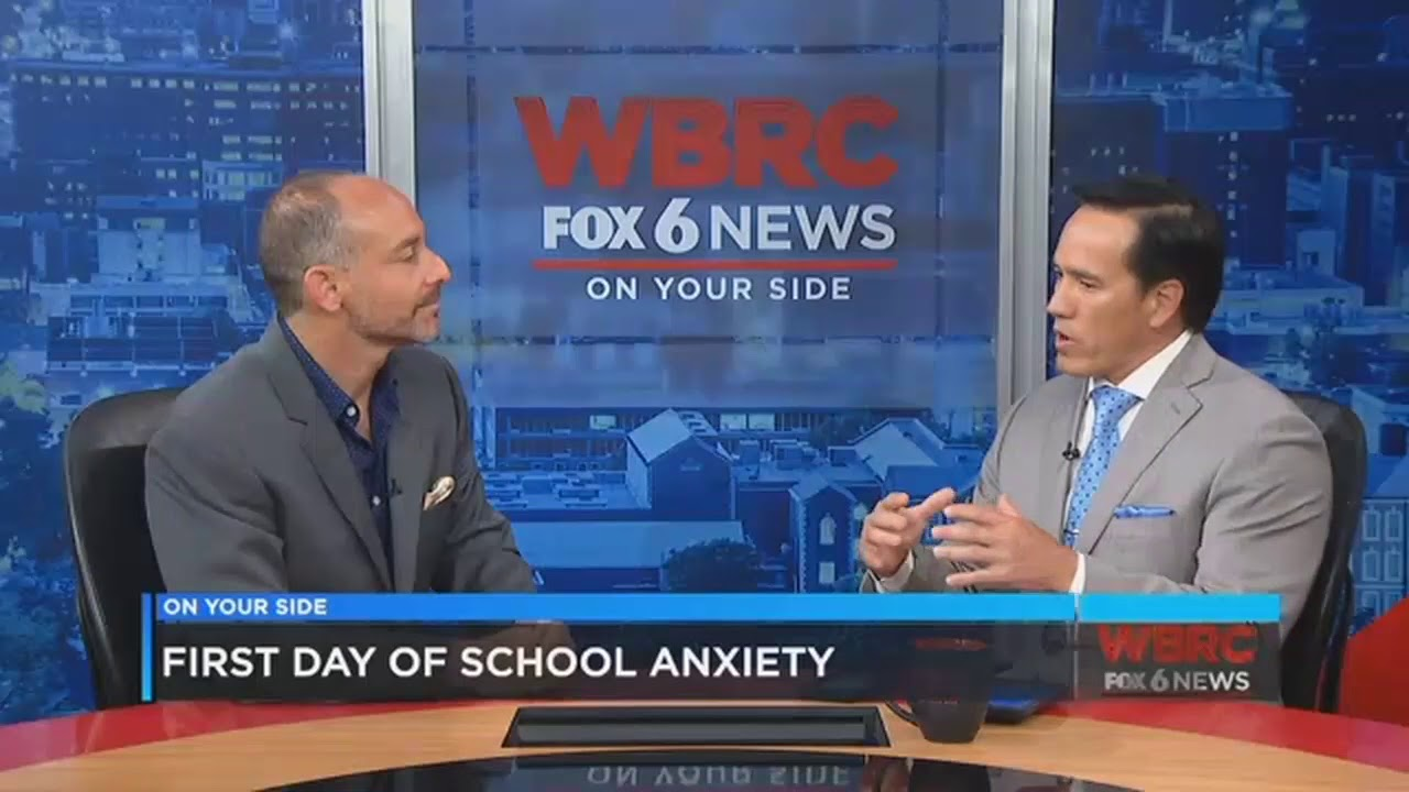 Managing First Day of School Anxiety WBRC FOX6 News