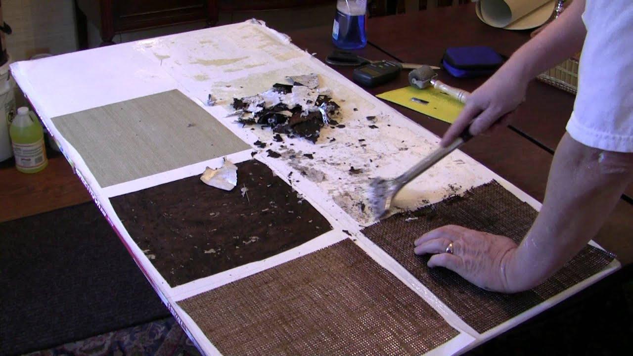 Removing Metallic Wallcoverings