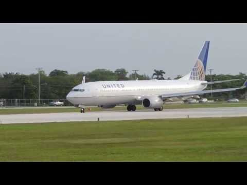 United Airlines B737-9 ETOPS (N30401) Taxi and Take-off at MWCR! Watch in HD!!