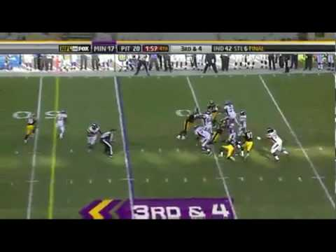 Adrian Peterson Hits William Gay