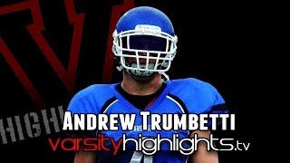 All-American Andrew Trumbetti - Notre Dame Football 2014