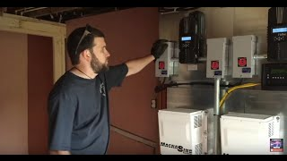6.3KW Off Grid solar and wind power system install by Off Grid Contracting Part:1 Solar portion