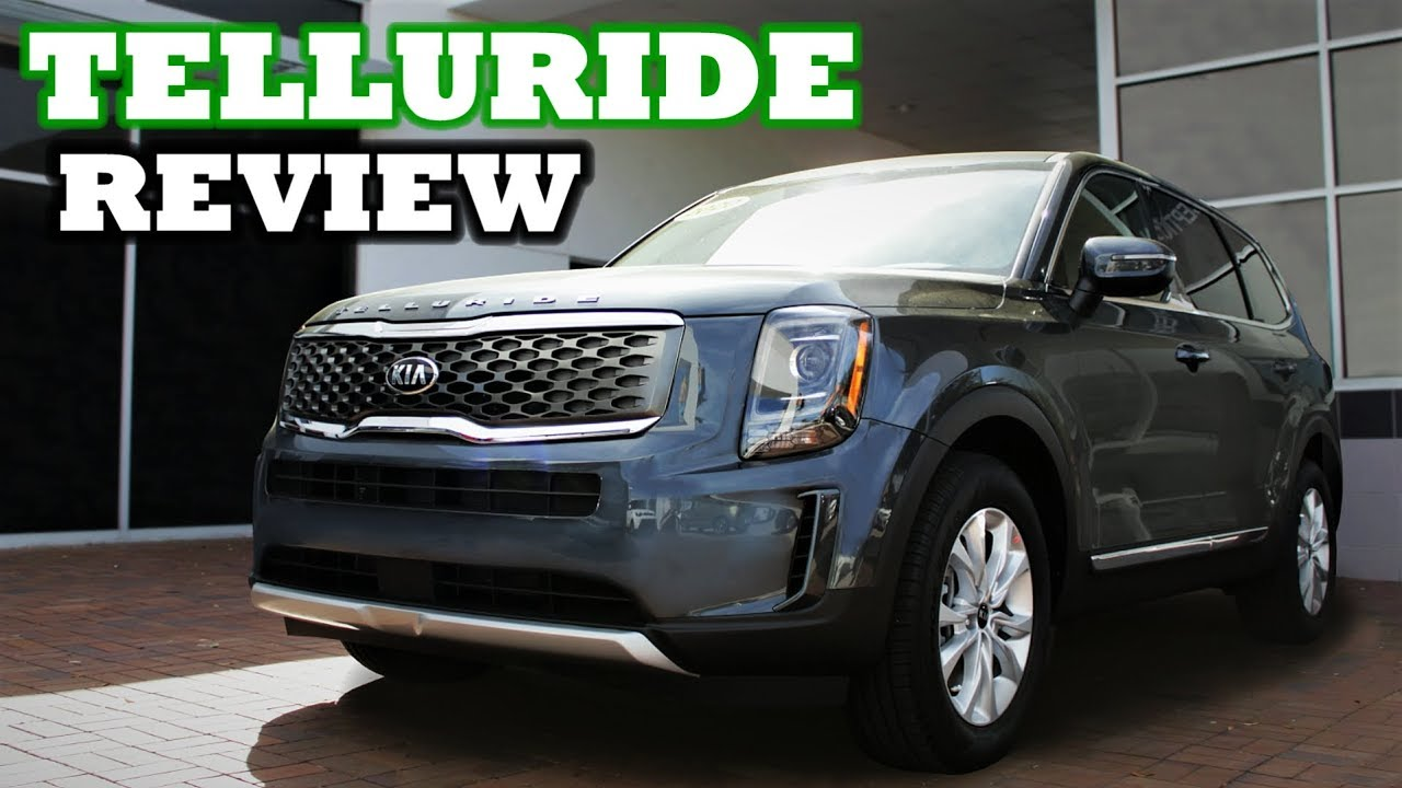 2020 Kia Telluride Review Bargain Land Rover Youtube