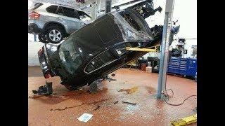 Подборка ЖЕСТЬ на СТО №1/Fun in auto repair shop!