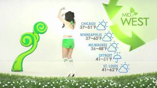 It's your Tuesday weather Girl, Esse bringing you some eco-friendly...