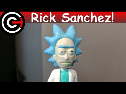 3D Printed Rick [Rick and Morty]