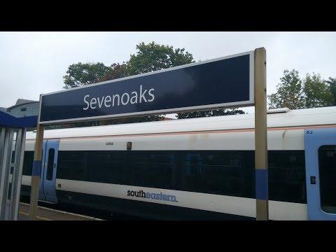 Full Journey on Southeastern from Sevenoaks to London Charing Cross