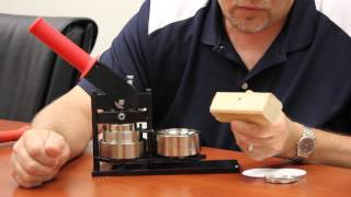 How to Troubleshoot a Jam in your Tecre Button Maker Machine